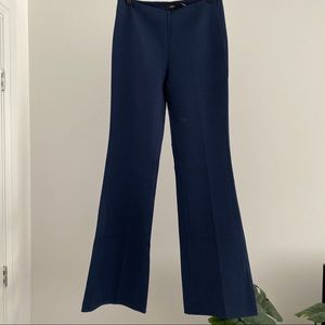 Theory Wool Blend Flared Pants
